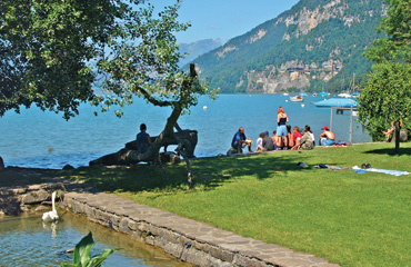 Camping Manor Farm, Interlaken,Berner Oberland,Switzerland