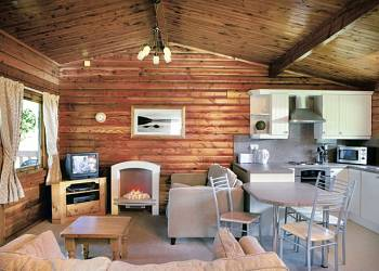 Kielder Water Lodges
