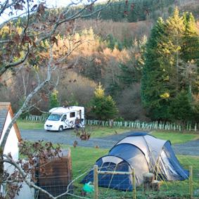 Graig Wen Touring Camp Site, Dolgellau,Gwynedd,Wales