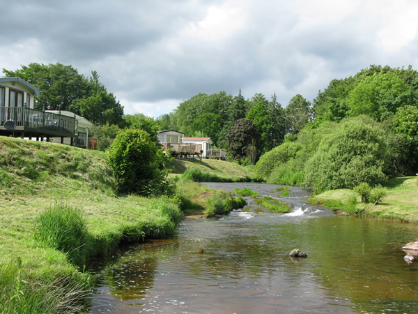 Blackadder Caravan Park, Greenlaw,Borders,Scotland